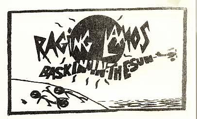 Basking in the sun sticker Raging Lamos