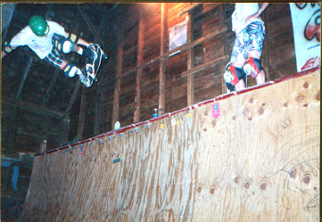 Bernie ODowd B side air 85 barn