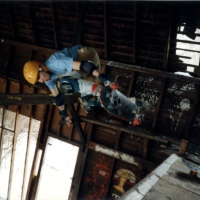 118: Crazy good picture of Jimmy Kane at The Barn 1987ish