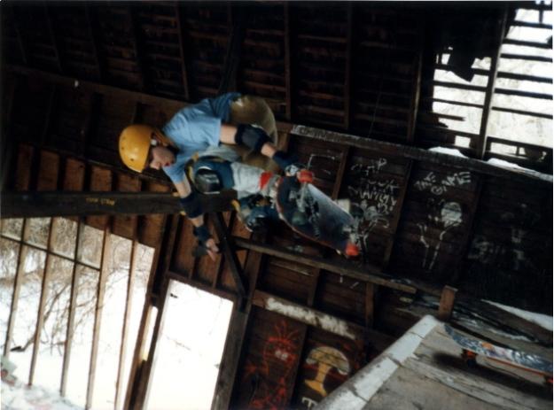 Jimmy Kane Barn Ramp 1987 Jason Oliva The House of Steam