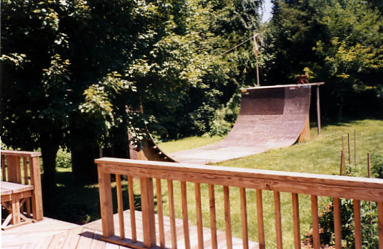 Bryan Kienlen The bouncing SOuls backyard ramp jason oliva the house of steam
