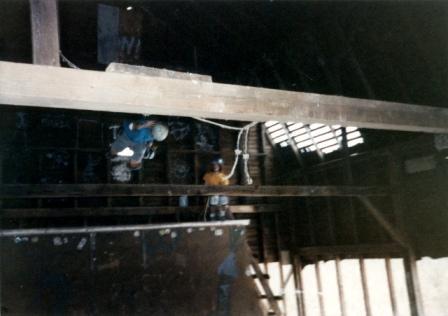 Jay Henry at the Barn NJ 1988 jason oliva the house of steam