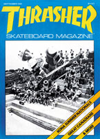 Thrasher September 1981 Issue 9 jason oliva the house of steam