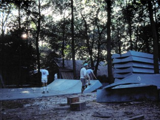 Blue Ramp Construction jason oliva the house of steam