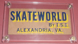 SkateWorld Sticker