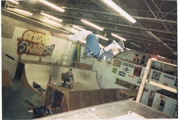 Jedi Frank Marley Cheap Skates PA 1991 The house of steam