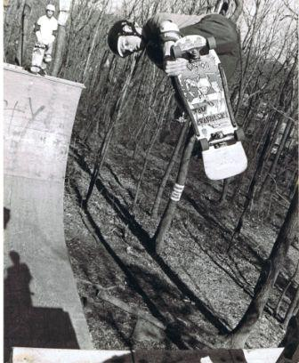 The House of Tom!! Tom Groholski at The Girl Ramp NJ 1987