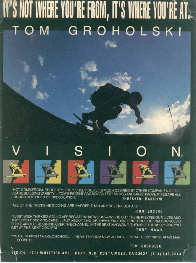Tom Groholski Vision Ad The House of Steam