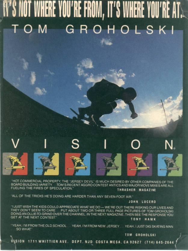 Tom Groholski Vision Ad The House of Steam