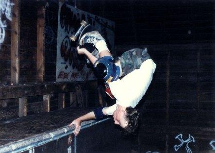 Dave Padulo Barn 1986