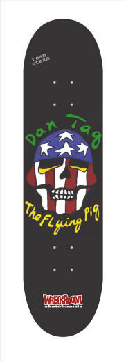 Dan Tag the Flying Pig