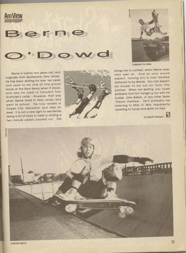 Bernie O'Dowd interview poweredge
