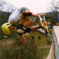 577: Jeff Roenning's Backyard skatepark Tom Groholski deck